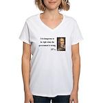 Voltaire 3 Women's V-Neck T-Shirt