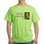 Voltaire 3 Green T-Shirt