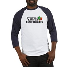 Everyone Loves an Ethiopian Boy Baseball Jersey