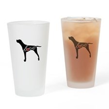 GSP Love Drinking Glass