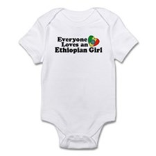 Everyone Loves an Ethiopian Girl Infant Bodysuit