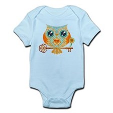 Owls Summer Love Letters Body Suit