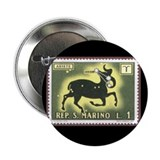 Aries the Ram Constellation Button Christmas gift