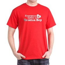Everyone Loves a Russian Boy T-Shirt
