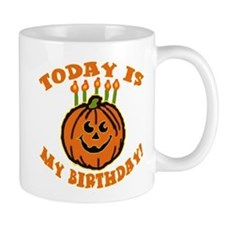 My Halloween Birthday Mug