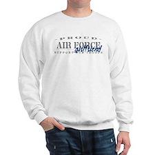 Proud Air Force Girlfriend (Blue) Sweatshirt