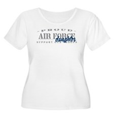 Proud Air Force Daughter (Blue) T-Shirt