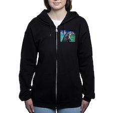 Dolphin Profile Women's Zip Hoodie