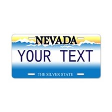 Nevada Customized Aluminum License Plate