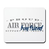 Proud Air Force Boyfriend (Blue) Mousepad