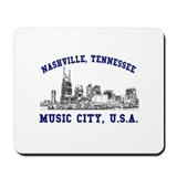 Nashville . . . Music City US Mousepad