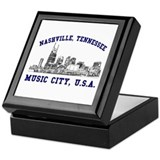 Nashville . . . Music City US Keepsake Box