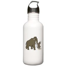 Woolly Mammoth And Big Water Bottle