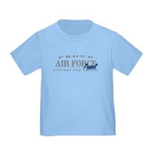 Proud Air Force Aunt (Blue) T