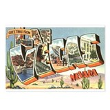 Greetings from Las Vegas Postcards (Package of 8)