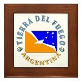 Tierra del Fuego Framed Tile