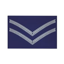 RAF Corporal<BR> Rectangle Magnet