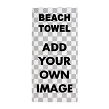 Custom Add Image Beach Towel