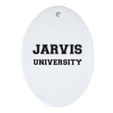 JARVIS UNIVERSITY Oval Ornament