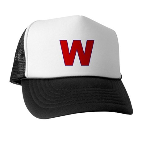 W (I Support George Bush) Trucker Hat