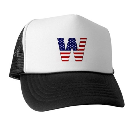 All American W Trucker Hat