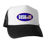 BUSH! American Flag Trucker Hat
