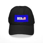 Bush American Flag Black Cap