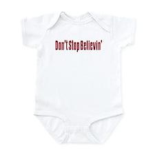 Don't stop believin Infant Bodysuit