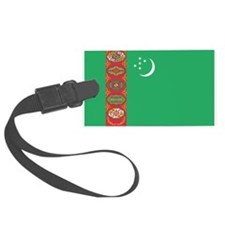 Turkmenistan Flag Luggage Tag