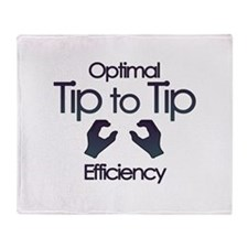 tip2tip Throw Blanket