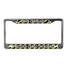 Precious Cargo Chihuahua License Plate Frame