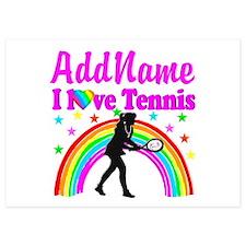 TENNIS PLAYER Invitations