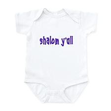 JEWISH SHALOM Y'ALL Infant Bodysuit