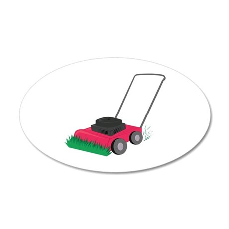 Lawn Mower Wall Decal