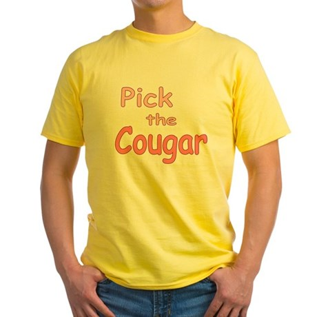 Pick the Cougar Yellow T-Shirt