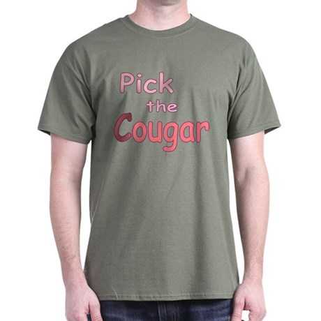 Pick the Cougar Dark T-Shirt