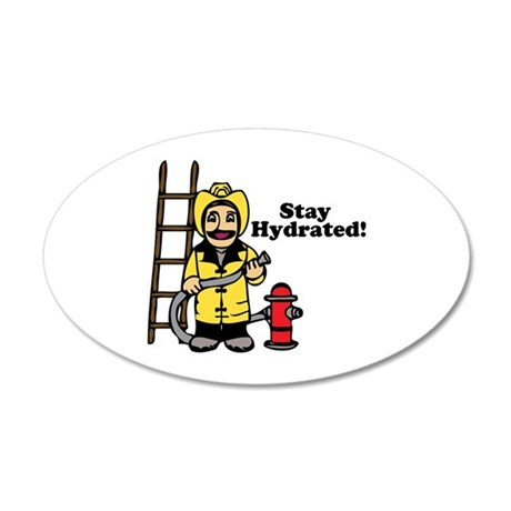 Stay Hydrated! Wall Decal