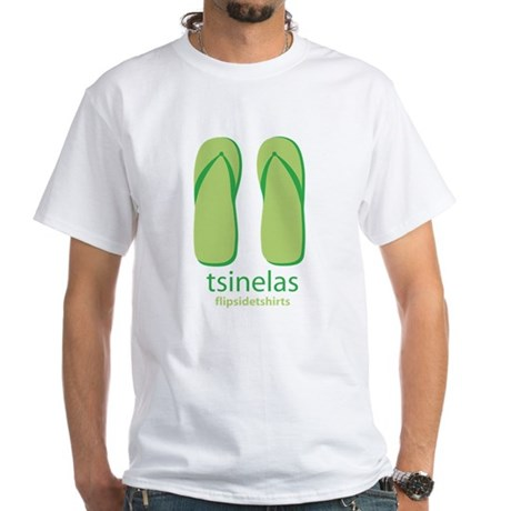 Big Tsinelas White T-Shirt