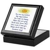 YOU ARE MY SUNSHINE.. Keepsake Box