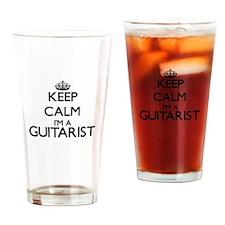 Keep calm I'm a Guitarist Drinking Glass