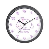 my bunny Wall Clock