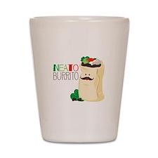 Neato Burrito Shot Glass