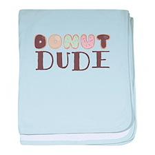 Donut Dude baby blanket