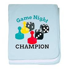 Game Champion baby blanket