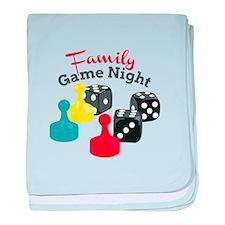Game Nigiht baby blanket