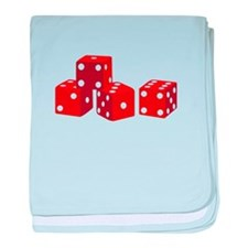Game Dice baby blanket