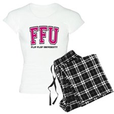 Flip Flop University FFU Pink Pajamas