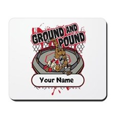 Custom Ground and Pound MMA Mousepad