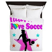 SOCCER PLAYER Queen Duvet