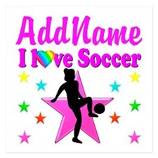 SOCCER PLAYER Invitations